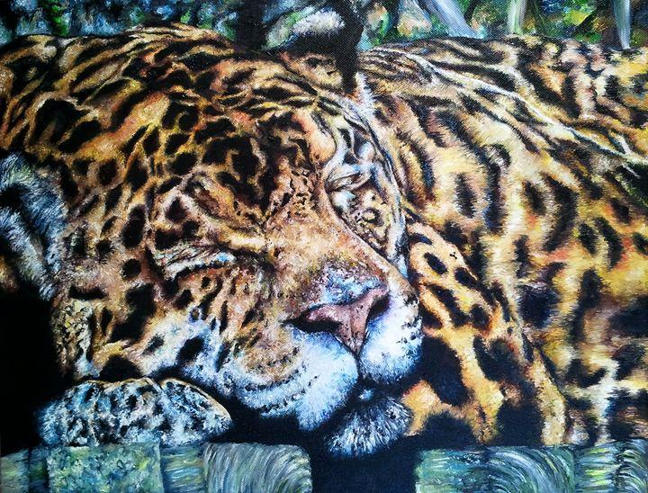 Just Dozing - Jessica Miller, Artist