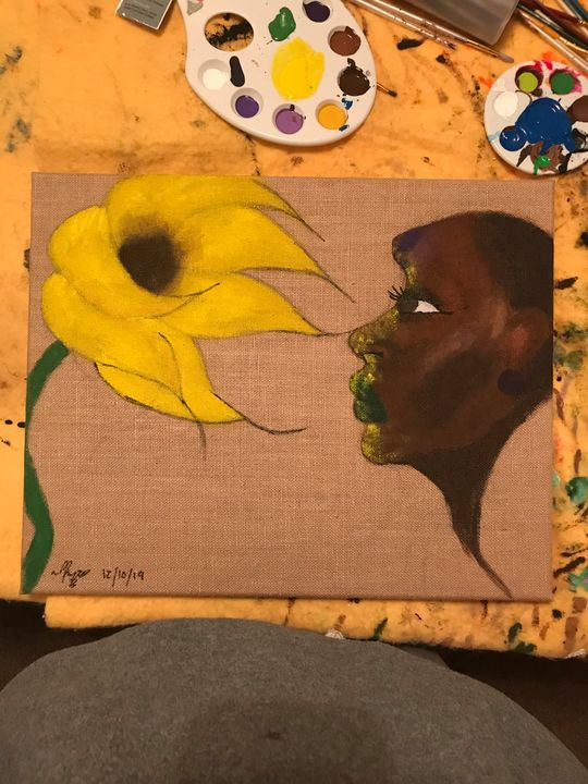 Sunflowers Dust - Raye Renee