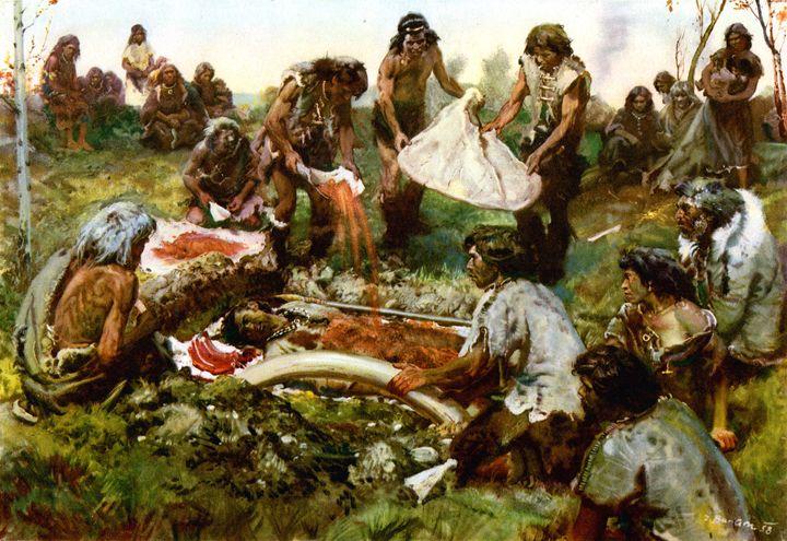Mammoth hunters grave - SPCHQ