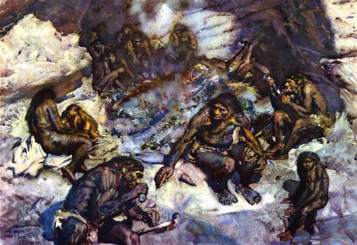 The cannibals of Krapina - SPCHQ