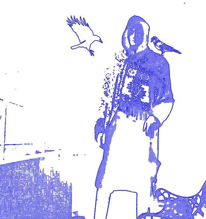 Odin Stamp Blue - SPCHQ