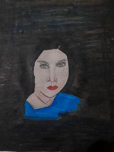Female modern art