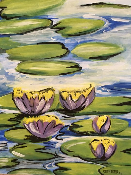 Happy Lilies - ZO Gallery