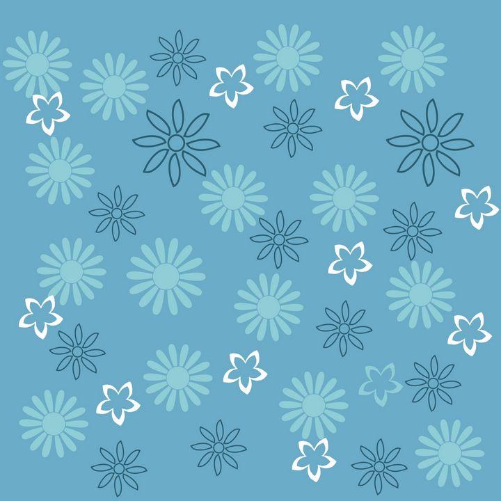 Flower print design - Sweetmell