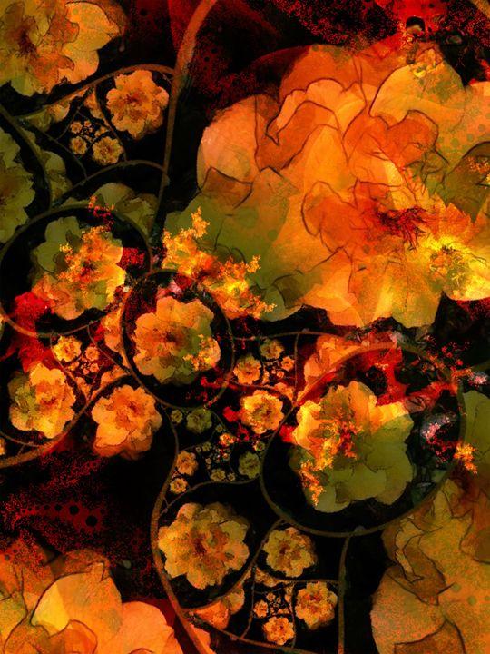 Orange Roses - Aumara SpiritArt