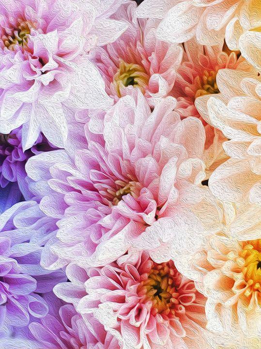 A bunch of flowers - Aumara SpiritArt