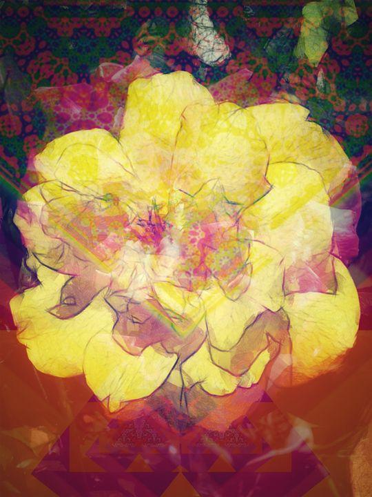 Yellow Rose - Aumara SpiritArt