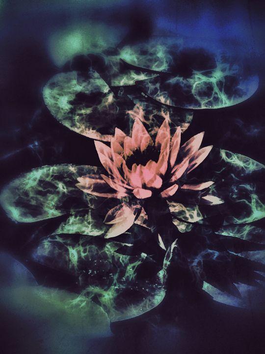 Dreamy Lotus Pond - Aumara SpiritArt