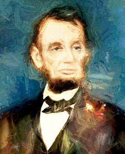 Abraham Lincoln Presidential - SUZANN K Digital Artistry