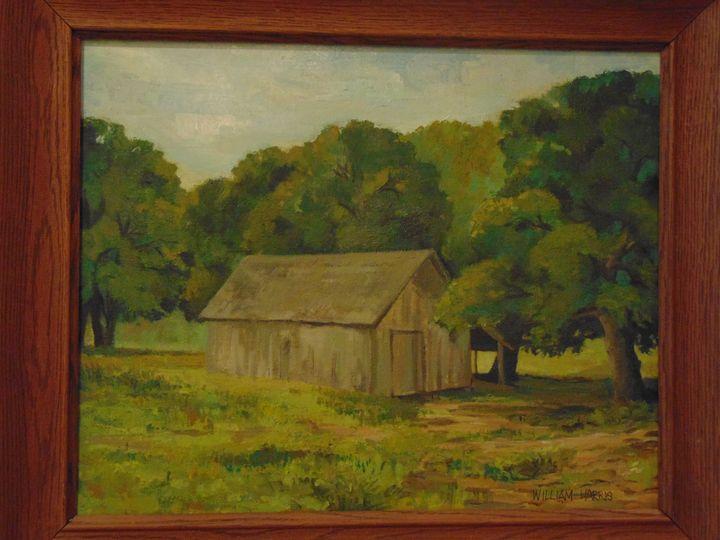 Tool shed - Bill Harris Art