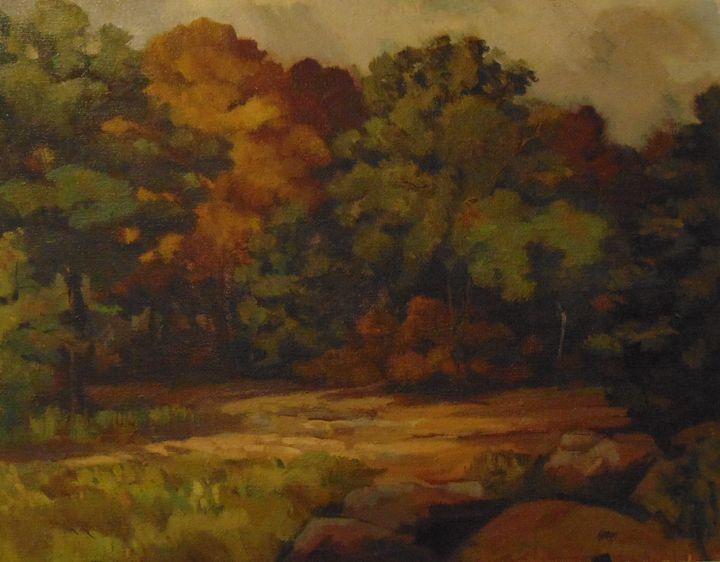 Dark woods - Bill Harris Art