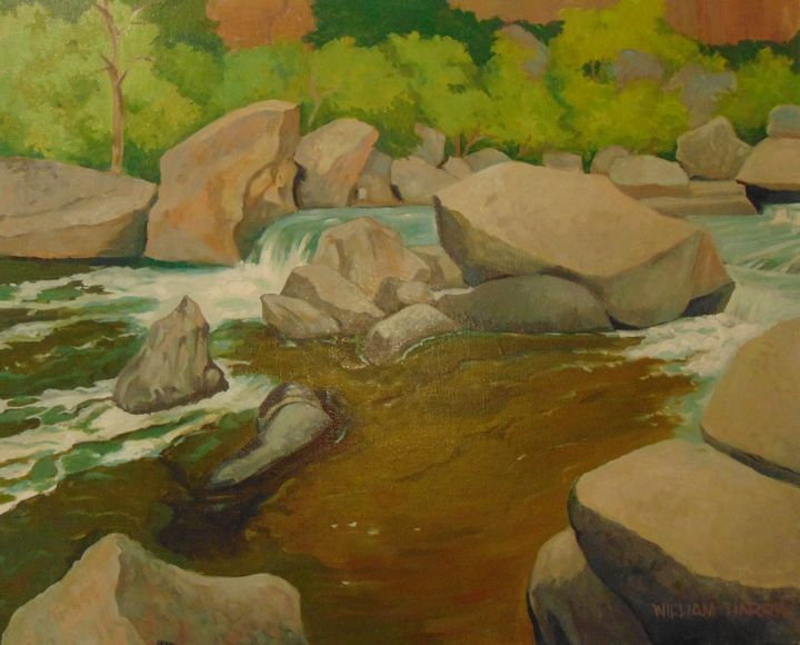 Green River - Bill Harris Art