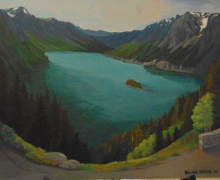 St Marys Lake - Bill Harris Art