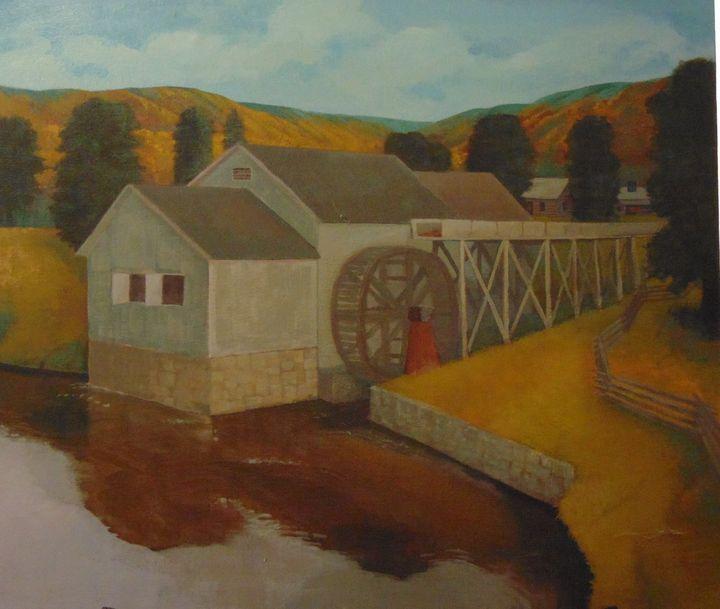 Old Grist Mill, Virgina - Bill Harris Art