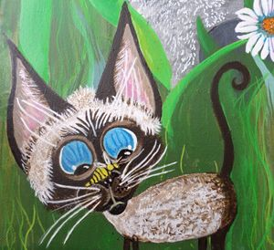 Ms.Lily Siamese Kitten