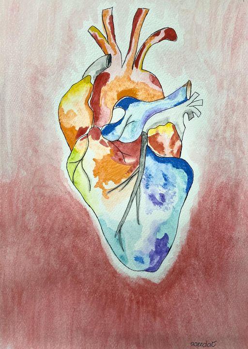 HUMAN HEART - A&H ARTS