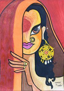 Sindhi Woman pakistan