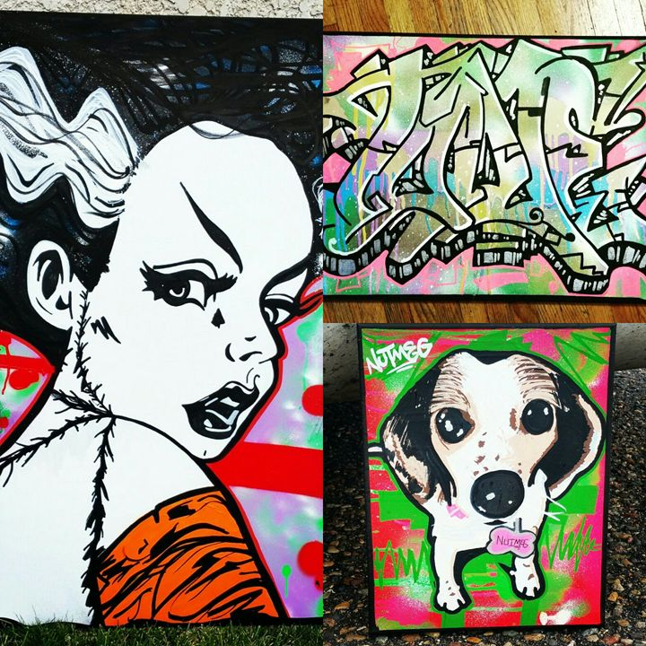 Custom canvases by Orikal Uno! - Graff Roots Media