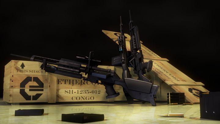 REVERSION - Sniper Rifle Render - The Magic Movie Machine