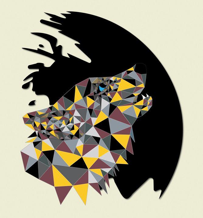 Metallic Wolf -  Imperialsteveo
