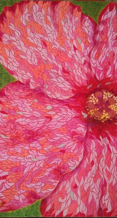 Hibiscus - Marie Hammond Art