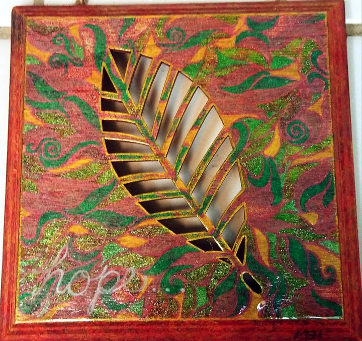 Leaf - Marie Hammond Art