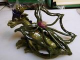 Clay sculpture dragon