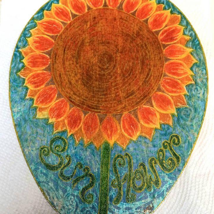 Sunflower - Marie Hammond Art