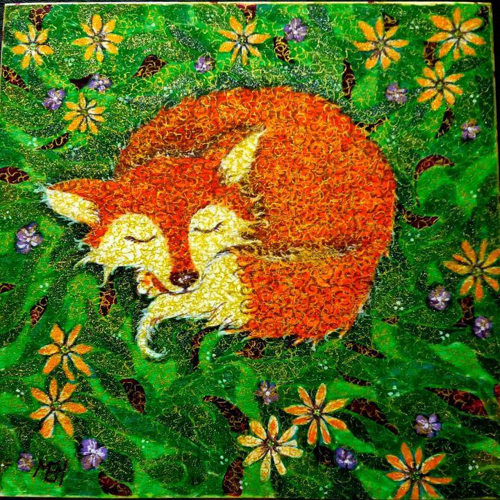 Little Fox - Marie Hammond Art