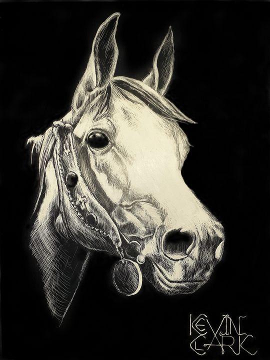 White Horse - K. L. Clark