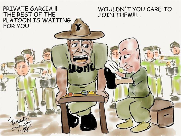 Spitshine Priority - Garcia Cartoon Co
