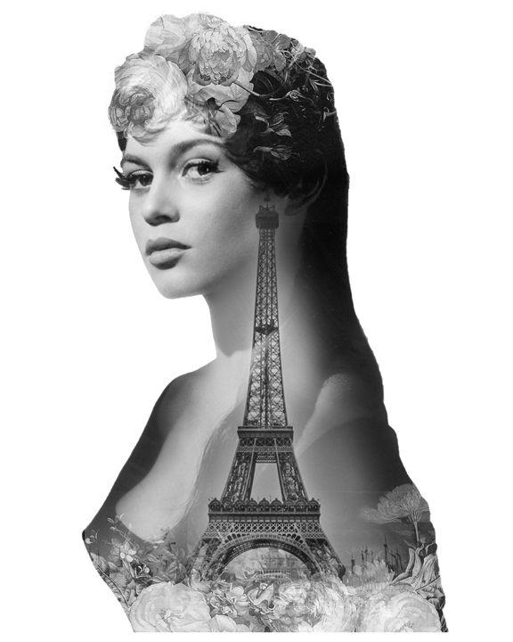 Brigitte Bardot - Muse On Paper