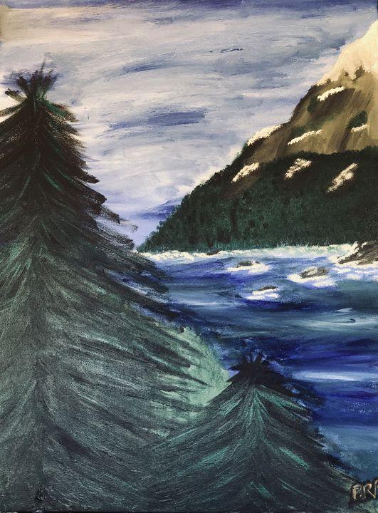 Peaceful mountains - B.Perez