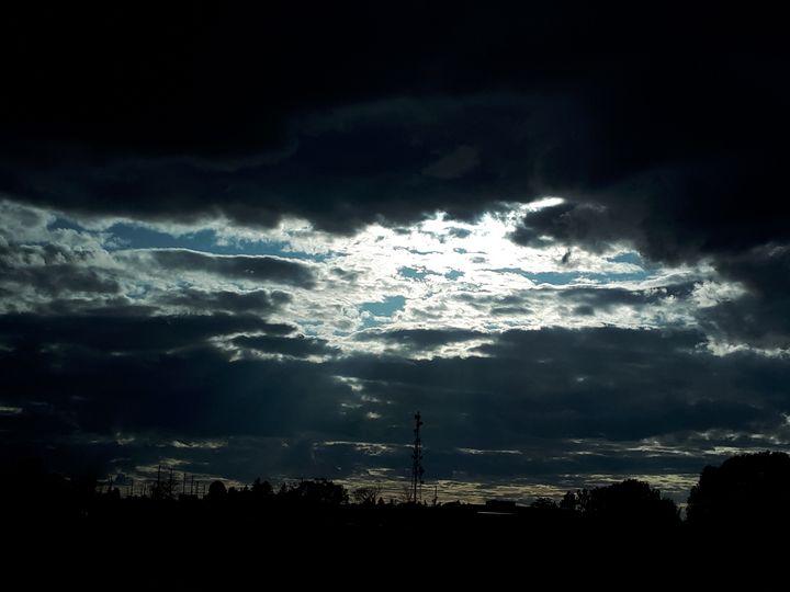 Brenda Grey Evening sunset - Brenda Grey