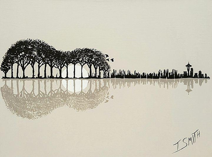 guitar reflection - Todd Smith