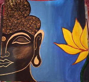Texture Lord Buddha