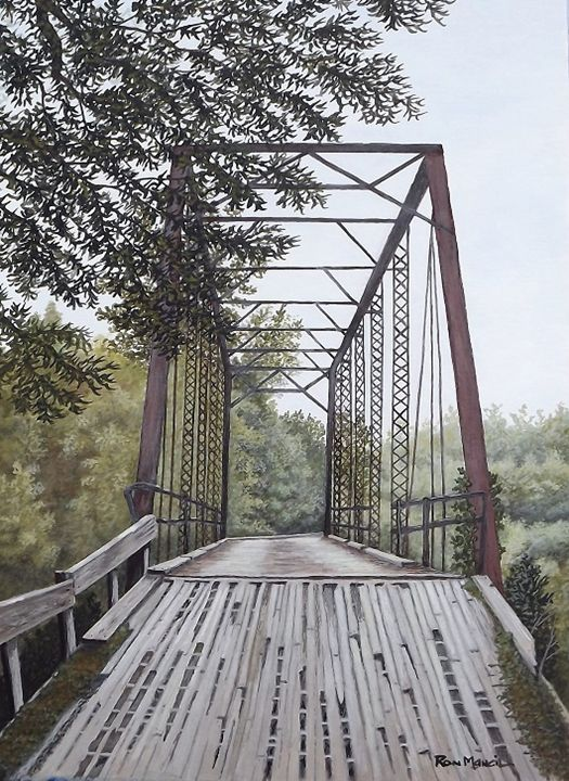 """Prestwood Bridge"" NFS - Ron Mancil Art"