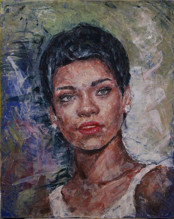 Rihanna - Alexey Kurkin