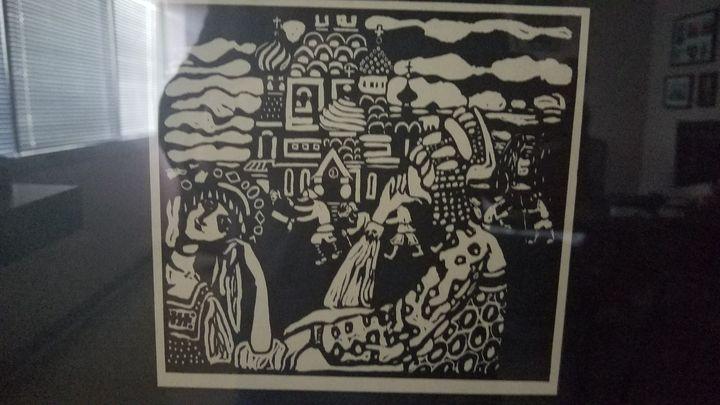 Kandinsky, L'eglise Church (Kirche), - Wassily Kandinsky