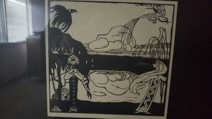 Kandinsky, Les Oiseauz (The Birds) - Wassily Kandinsky