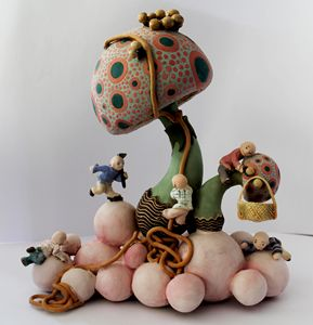 mushroom workers - artZahide