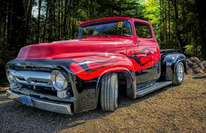 Customized Ford Truck