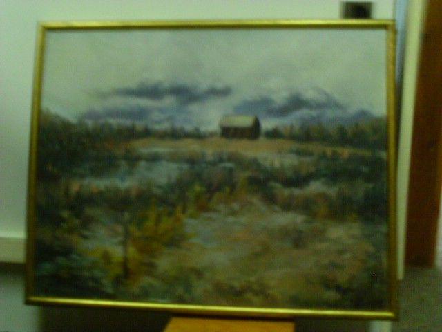 H M LUND Farmhouse - The Art Market Gallery