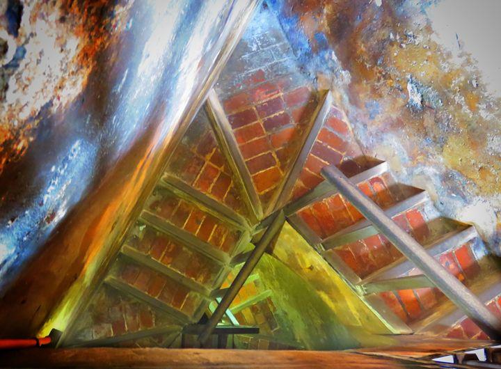 El Morro Triangular Stairs - Rrrosepix