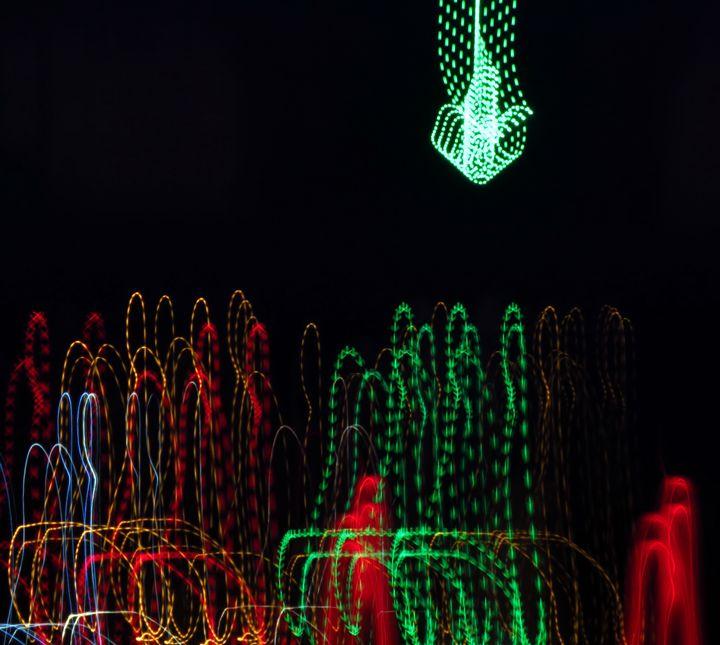 Light travels  Baybridge dancing - Rrrosepix