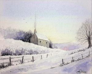 """"""" Winters Cottage """" - Andrew Lucas"""