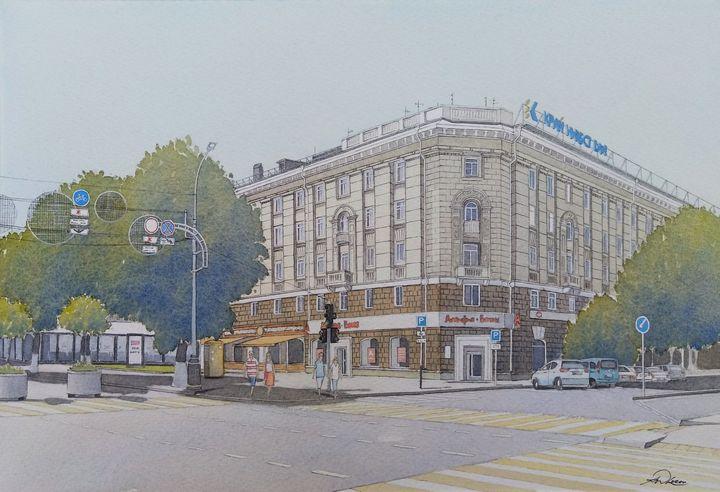 """ Krasnaya Street Apartments "" - Andrew Lucas"