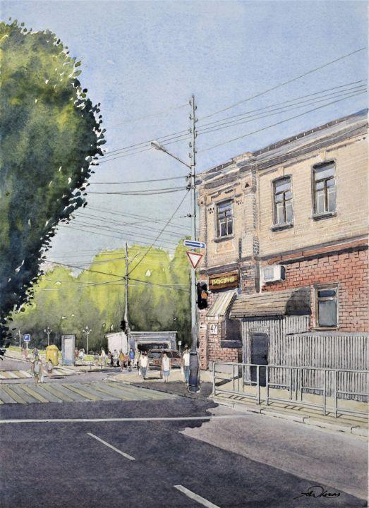 At the corner - Andrew Lucas