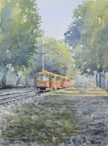 """"""" The tram home """" - Andrew Lucas"""