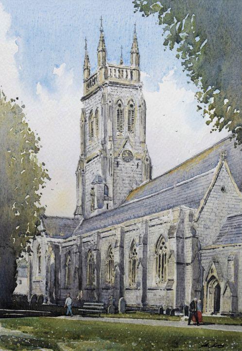 St Mary's parish church, Torquay. - Andrew Lucas